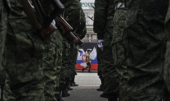 В Донецкой республике принят Закон о создании вооруженных сил. донецк