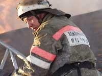 Пожар в центре столицы удалось потушить