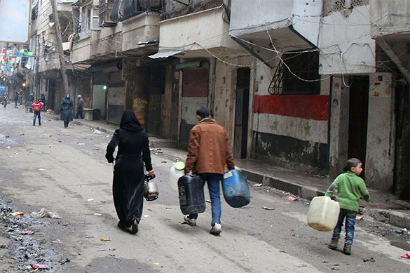 Боевики Алеппо требуют 0 c человека за выход по гумкоридорам