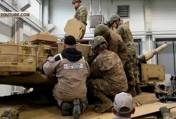 Зачем американцы готовят свои танки в Европе к городским боям?