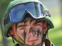 Бойцы спецназа отмечают профессиональный праздник. army