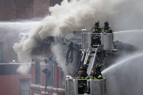 Взрыв газа на Манхэттене: пострадали 19 человек. Взрыв газа на Манхэттене