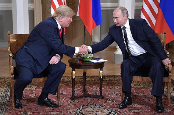 Трамп заявил, что хотел бы встретиться с Путиным еще раз. 389801.jpeg