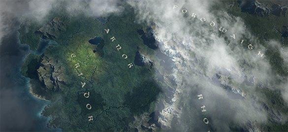 Путешествие хоббита Фродо через Средиземье воссоздали в стиле Google Maps. Фродо