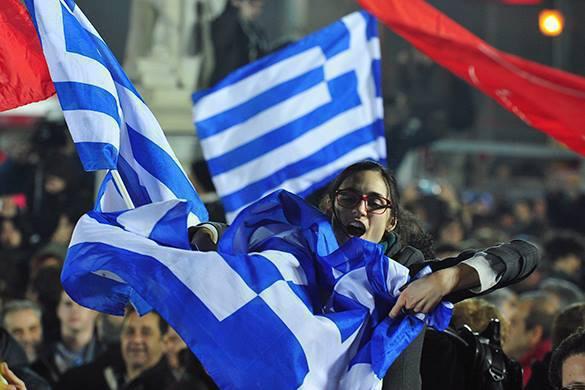 Митинг в поддержку греческого правительства собрал 18 тысяч человек. Греция поддерживает свое правительство