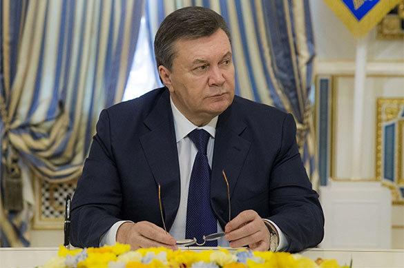 Янукович: Снайперы, стрелявшие на Майдане, прибыли из других стр
