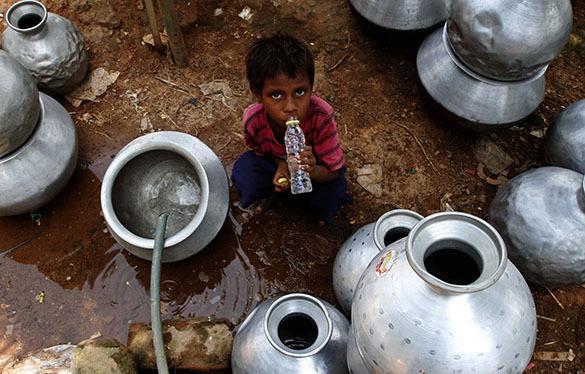 В Индии смертельная жара убила свыше 2000 человек. Индия