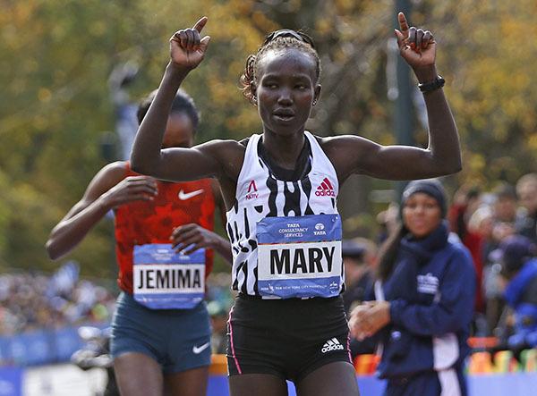 Спортсмены из Кении стали победителями марафона в Нью-Йорке. 302805.jpeg