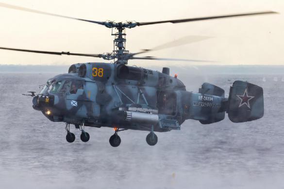 Ка-29 с экипажем  рухнул в Балтийское море. Ка-29 с экипажем рухнул в Балтийское море