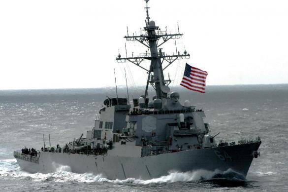 """Эсминец США в Черном море учебно утоплен """"Бастионами"""". 390806.jpeg"""