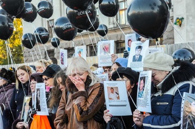 Европа помянула заживо сожженных в Одессе акциями памяти. 302807.jpeg