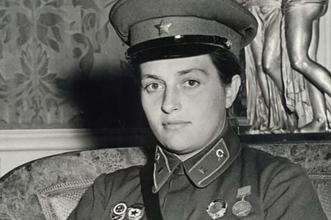 Советский снайпер на приеме первой леди США. 402807.jpeg