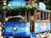 Рижский ретро-трамвайчик попал под колеса кризиса