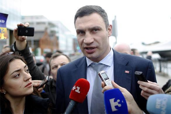 Виталий Кличко перепутал гимны Киева и Украины. Кличко