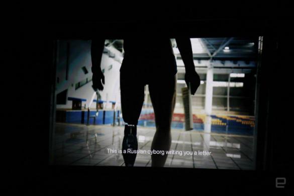 'Киборг из России стал звездой презентации Apple Watch