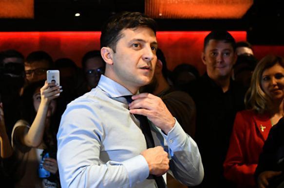 Штаб Порошенко обвинили в публикации видео, где Зеленского сбивает фура. 402810.jpeg