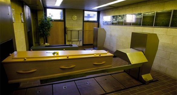 Крематорий Осло собирается продавать тепло в дома от сожженных тел. крематорий, гроб, похороны