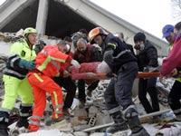 Жертвами землетрясения в Италии стали 179 человек
