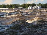 На юго-востоке США три человека погибли в результате наводнений