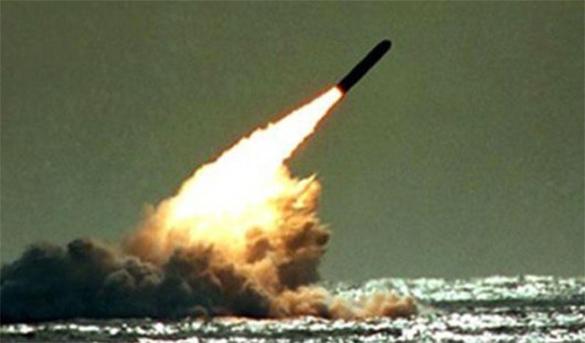 Российский флот атаковал противника в Тихом океане. Учебно. булава,подлодка,субмарина,пуск ракеты,учения