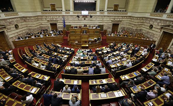 Греция, парламент
