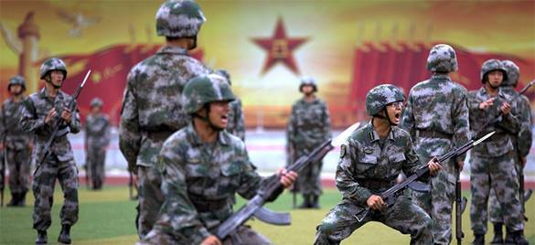 Военным с лишним весом откажут в повышении звания. Армия Китая