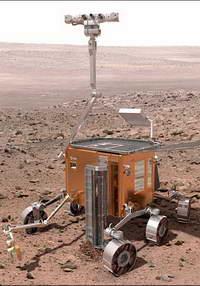 Робот вывернет грунт Марса наизнанку