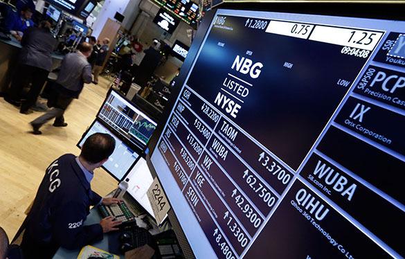 Фондовые рынки Европы отреагировали на греческий кризис падением. Фондовый рынок