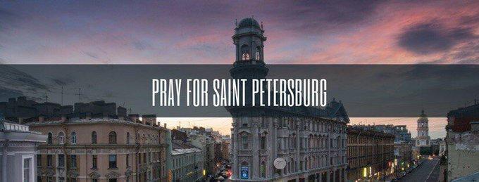 В соцсетях проходит акция в поддержку Санкт-Петербурга
