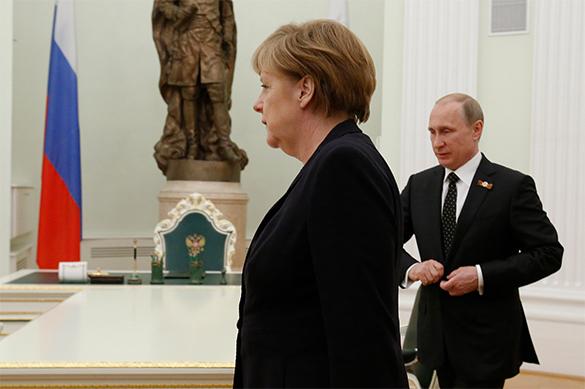 Путин иМеркель обсудят ситуацию вгосударстве Украина ивСирии
