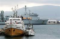 Греческий военный фрегат арестовал семерых сомалийских пиратов