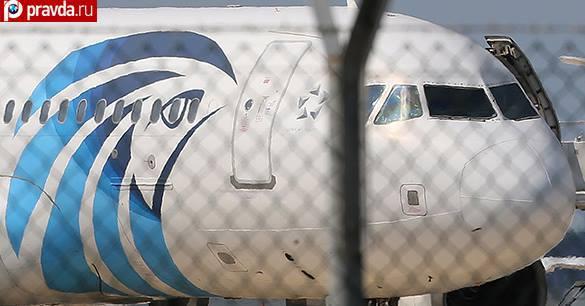 На борту египетского лайнера мог произойти теракт