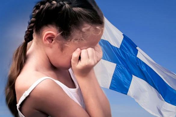 У россиянки в Финляндии украли двух дочерей