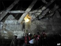 На окраине Найроби рухнула пятиэтажка