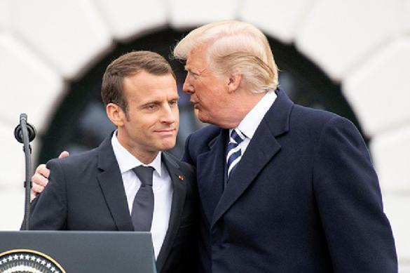 СМИ: Трамп предлагал Макрону вывести Францию из ЕС. 388822.jpeg