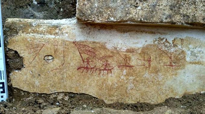 Древние рисунки обнаружили археологи в Крыму. © Пресс-служба Института археологии РАН