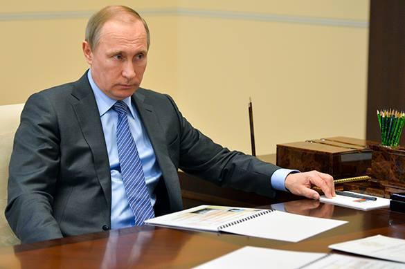 Путин привлек внимание Франции и Германии к диверсии в Крыму