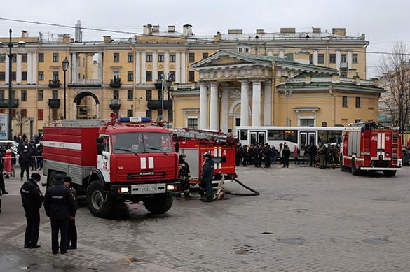 Два человека врозыске поподозрению всовершении теракта— Петербург