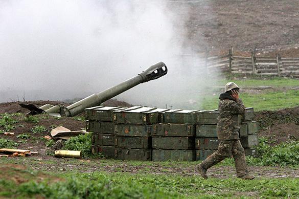 Азербайджан нанес удары по армянской армии в Карабахе
