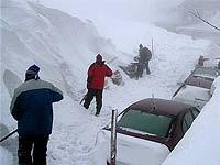 На востоке Турции выпал снег