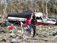 Жертвами торнадо в США стали 45 человек. tornado
