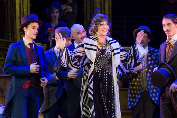 Валерия Ланская выступит в роли Теодоры в мюзикле «Принцесса цир