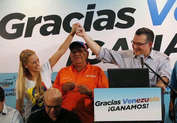 Победа оппозиции на выборах в Венесуэле
