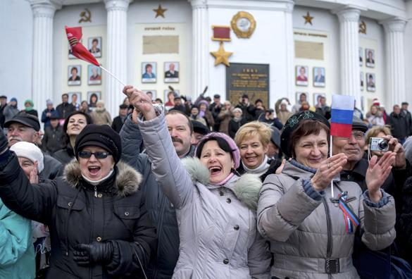 Киев: крымчан надо приравнять к террористам