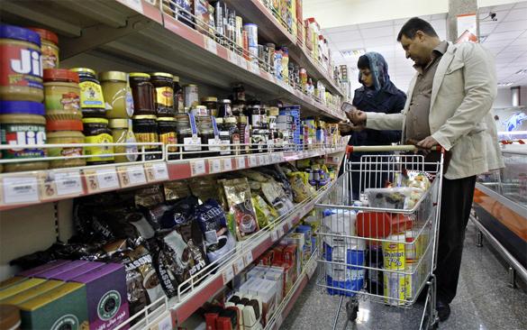 Санкции: Экспорт в Польшу российского продовольствия увеличился на 80 процентов. в магазине