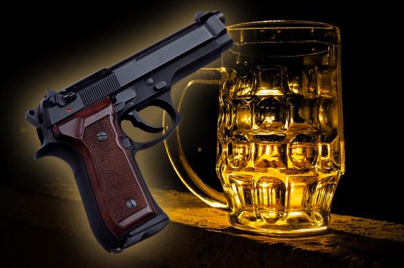Житель Волгограда выгнал грабителей, помешавших ему пить пиво. В