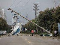 В результате ливня и града в КНР пострадали 153 жителя. china