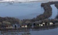 В США наводнение сменится снежными буранами