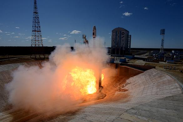 С космодрома Восточный успешно стартовала ракета-носитель Сою