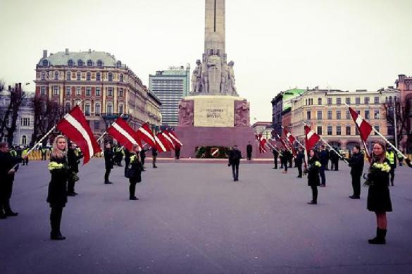 В Латвии прошел марш легионеров войск СС. 400832.jpeg